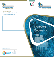 Postnatal Depression (printable version) front page preview