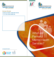 What are Perinatal Mental Health Services? (printable version) front page preview