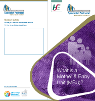 What is a Mother & Baby Unit? (MBU) printable version front page preview