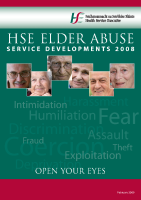 Elder Abuse Report 2008 front page preview