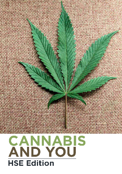 Cannabis and You 2nd edition front page preview