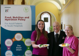 Launch of new HSE Nutrition Policy image 260 x184