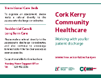 Cork Kerry Discharge card front page preview