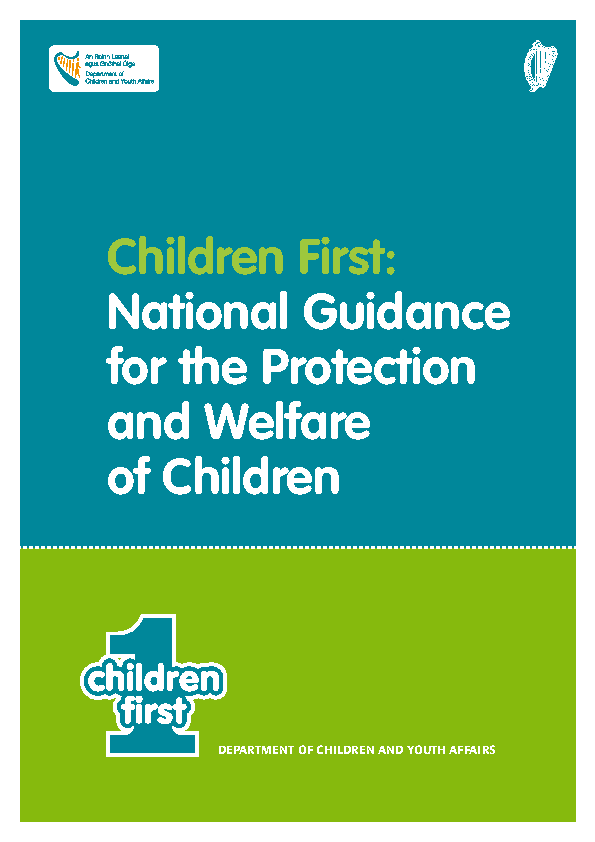 Children First 2011 front page preview