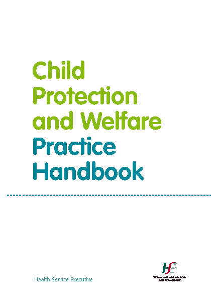 Child Protection and Welfare Practice Handbook front page preview