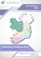 Community Healthcare West Annual Report 2018 front page preview image