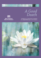 A Good Death - Palliative Care front page preview
