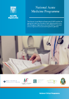 Acute Medicine Programme Brochure front page preview