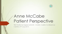 Anne McCabe: Patient Perspective front page preview