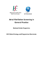 Atrial Fibrillation Screening in General Practice front page preview
