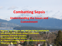 Combatting Sepsis - Understanding the Issues and Commitment front page preview
