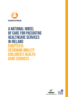 Chap 6: Designing Quality Children's Health Care Services front page preview