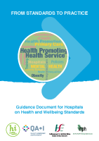 Guidance Document for Hospitals on Health and Wellbeing Standards front page preview