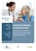 Introduction - Towards Excellence in Palliative Care front page preview