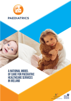 Chap 1: Model of Care for Paediatric Healthcare: Executive Summary front page preview