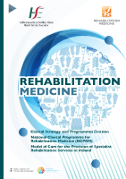 Model of Care for Specialist Rehab Medicine front page preview