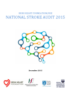 National Stroke Audit 2015 front page preview