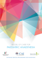 Paediatric Anaesthesia MOC front page preview