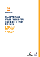 Chap 40: Paediatric Pharmacy front page preview