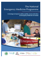 The National Emergency Medicine Programme front page preview