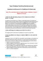 Blood Sugar Testing - HSE ie