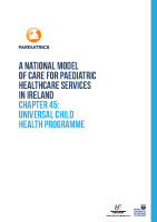 Chap 45: Universal Child Health Programme front page preview