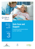 Workbook 3 - Safe Care and Support front page preview