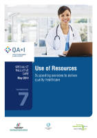 Workbook 7 - Use of Resources front page preview