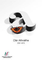 Clár Athraithe 2007 - 2010 front page preview image