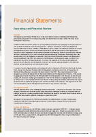 Financial Statements 2006 front page preview image