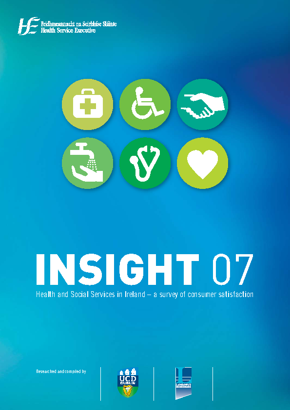 INSIGHT '07 Full Document front page preview image