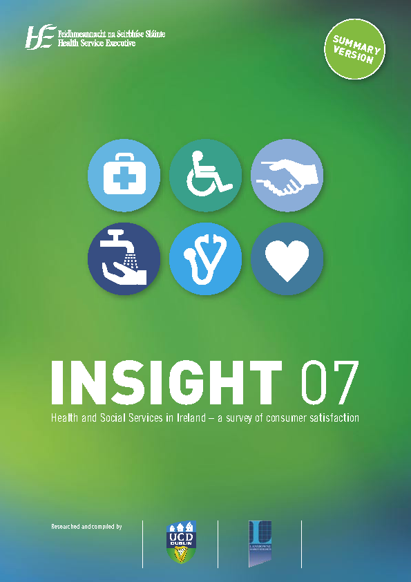 INSIGHT '07 Summary Document front page preview image