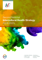 Intercultural Health Strategy 2018-2023 front page preview image