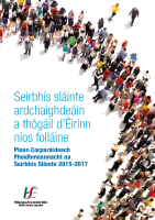 Plean Corparáideach FSS 2015-2017 front page preview