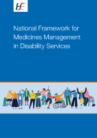 National Framework for Medicines Management in Disability Services front page preview image