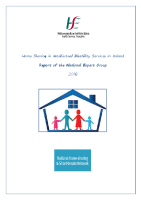 Report of the National Expert Group on Home Sharing front page preview