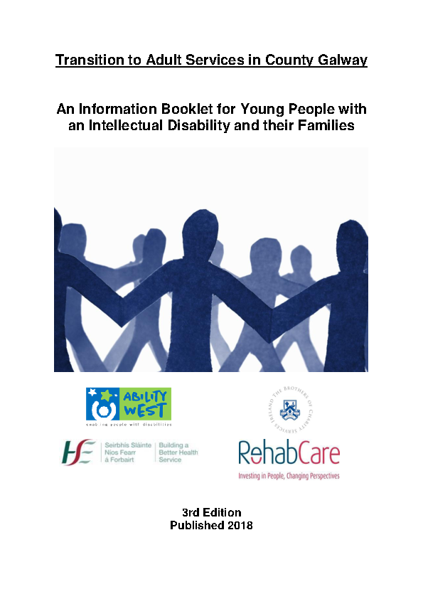 Transition to Adult Services in Co Galway front page preview