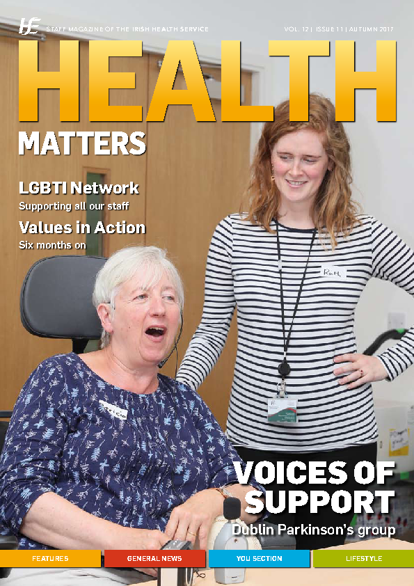Health Matters Autumn 2017 front page preview