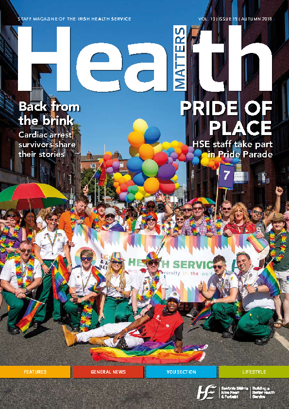Health Matters Autumn 2018 front page preview