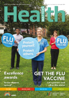 Health Matters Autumn 2020 front page preview image