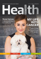 Health Matters Spring 2018 front page preview