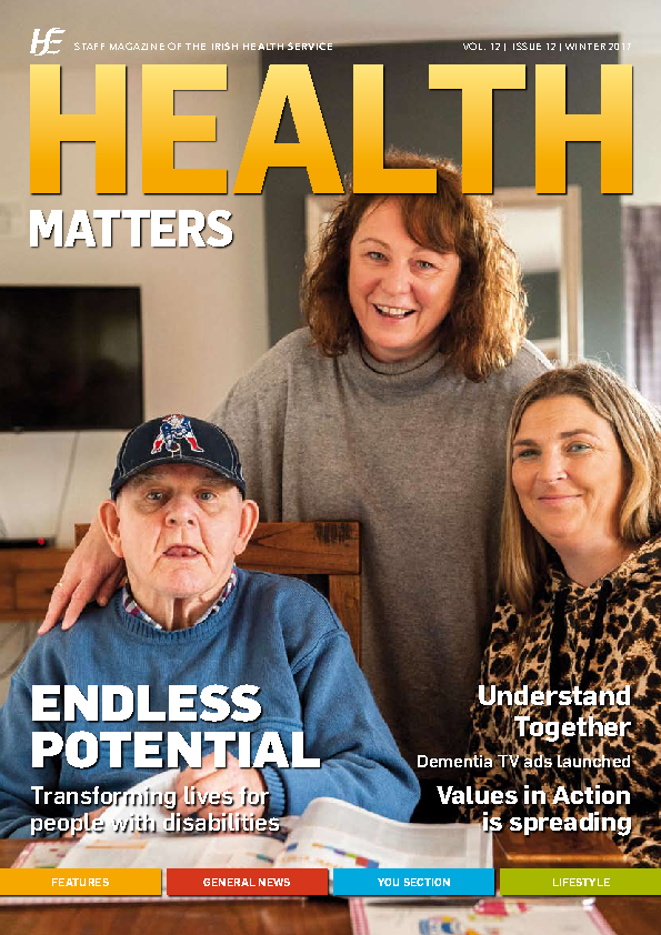 Health Matters Winter 2017 front page preview image