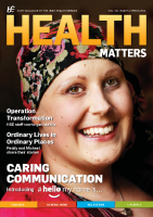 Health Matters Spring 2016 front page preview