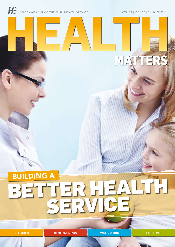 Health Matters Summer 2016 front page preview