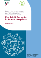 Food, Nutrition and Hydration Policy For Adult Patients in Acute Hospital front page preview