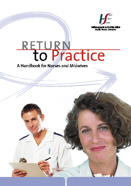 Return to Practice - A Handbook for Nurses and Midwives front page preview