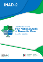 Irish National Audit of Dementia Care in Acute Hospitals front page preview image
