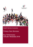 2018 Primary Care Metadata front page preview image