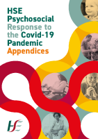 Appendices for the HSE Psychosocial Response to the Covid -19 Pandemic 2020 front page preview image