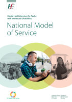 HSE National MHID Model of Service January 2021 front page preview image